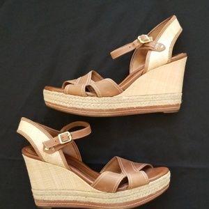 Clark's Wedge Sandals sz 9.5